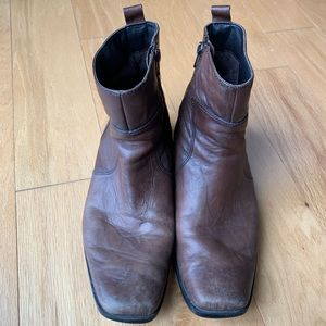 Rockport Brown Leather Boots